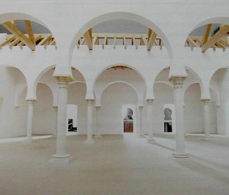Maquetas: Museu de Mértola - Mesquita Islâmica. Mértola. (figura 1)