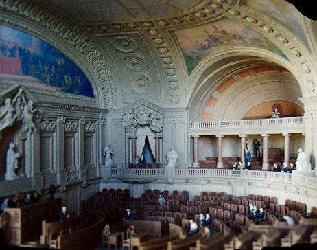 Maquetas: Assembleia da República - Salas. Lisboa. (figura 1)