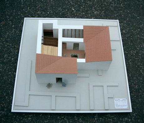 Maquetas: Museu de Mértola - Casa Islâmica. Mértola. (figura 1)