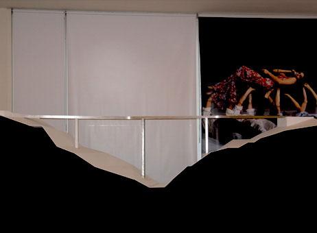 Maquetas: Ponte pedonal sobre a Ribeira da Carpinteira. Covilhã. (figura 1)