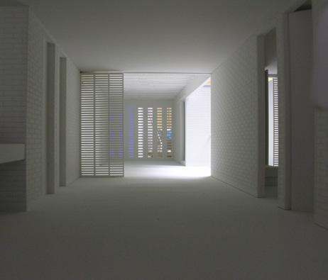 Maquetas:  Casa de habitação - Trienal de Arquitectura de Lisboa 2010. (figura 1)