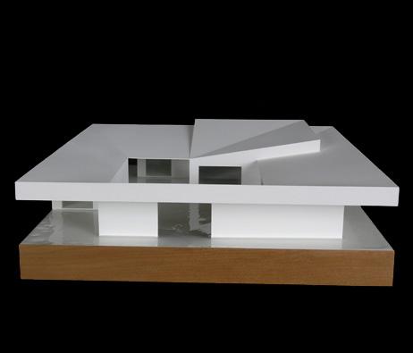 Maquetas: Casa cisterna. (figura 1)