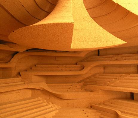 Maquetas: Elbphilharmonie Hamburg - Auditório, Hamburgo, Alemanha (figura 1)