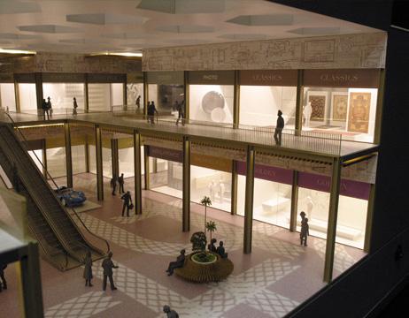 Maquetas: Centro Comercial Barwa Alaateda, Doha, Qatar (figura 2)