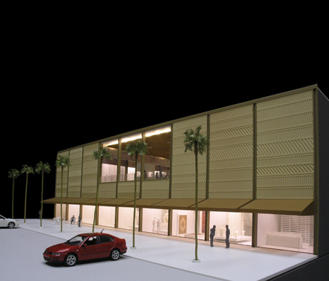 Maquetas: Centro Comercial Barwa Alaateda, Doha, Qatar (figura 3)