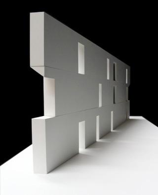 Lar para idosos - Detalhe da parede exterior, Alcácer do Sal. (figura 1)