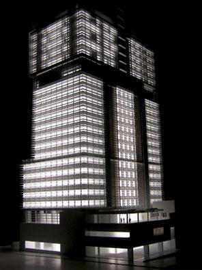 Maquetas: Torre Luanda, Luanda, Angola. (figura 1)