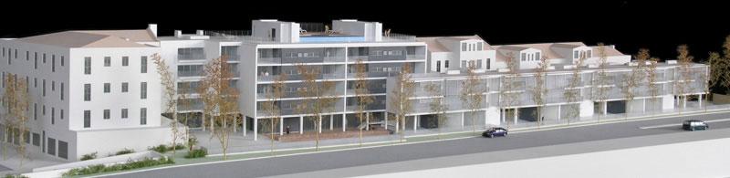 Maquetas: Empreendimento residencial Forte de Nossa Senhora da Conceição, Algés (figura 1)