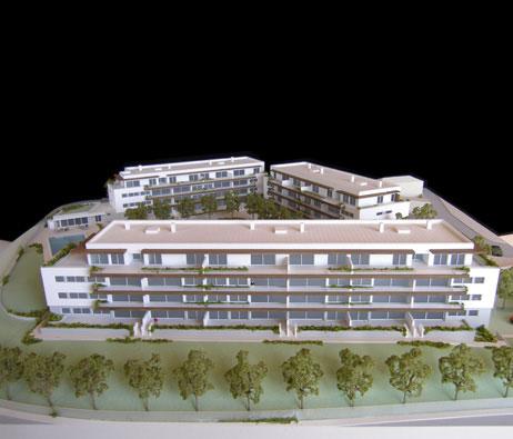 Maquetas: Condomínio Horizon, Oeiras (figura 1)