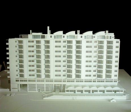 Maquetas: Edifício de habitação das Águas Livres, Lisboa (figura 1)