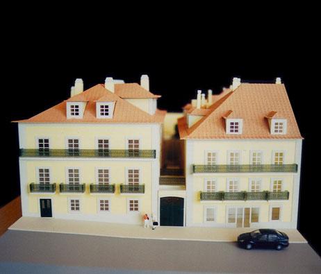 Maquetas: Casa de habitação, Calçada da Ajuda, Lisboa (figura 1)
