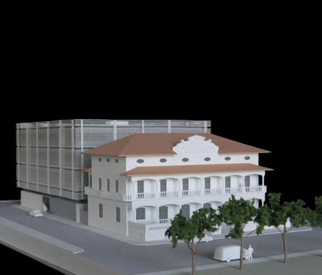 Maquetas: Banco Central de São Tomé e Príncipe, São Tomé e Príncipe (figura 1)