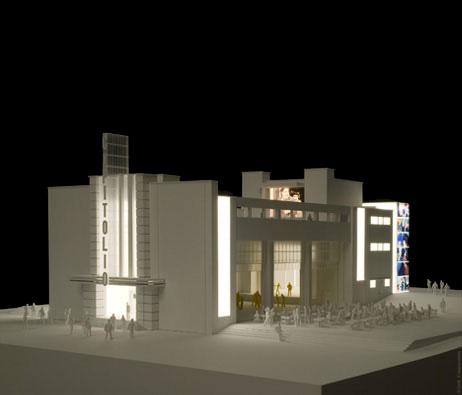 Maquetas: Projecto de recuperação do Teatro Capitólio, Parque Mayer, Lisboa (figura 1)