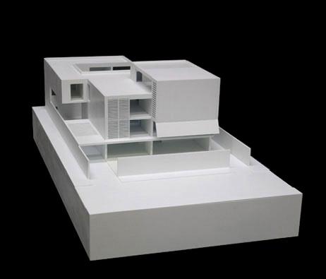 Maquetas: Casa Miriam Cruz, Luanda, Angola (figura 1)