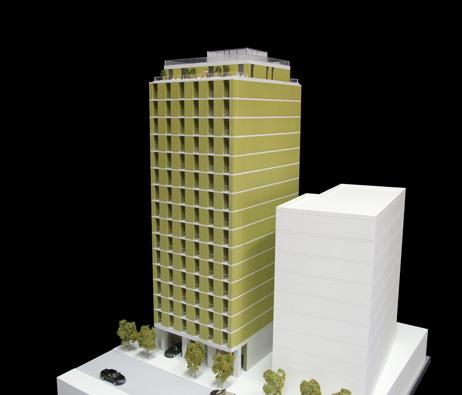 Maquetas: Edifício 4 Life, Luanda, Angola (figura 1)