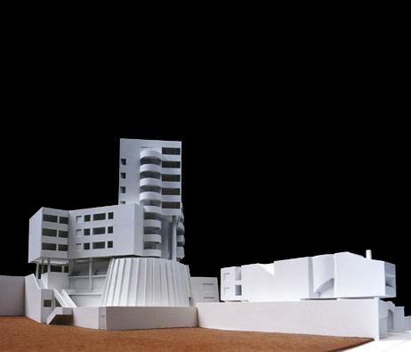 Maquetas: Edifício Avenida. Funchal, Madeira