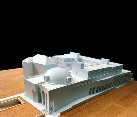 Maquetas: Câmara Municipal de Matosinhos (figura 1)