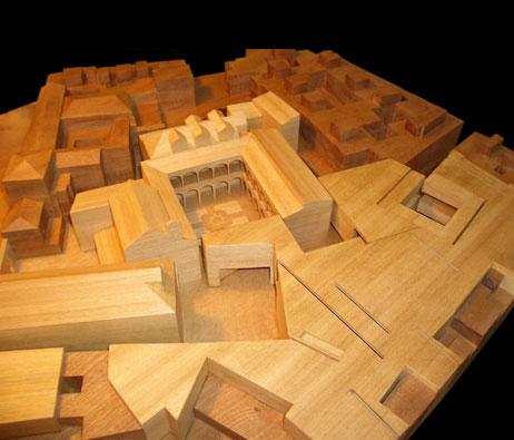 Maquetas: Museu. Sevilha, Espanha (figura 1)