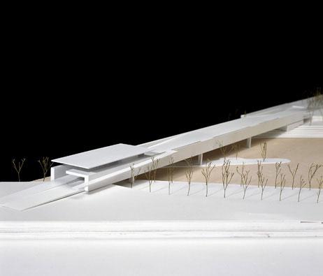 Maquetas: Ponte / Pavilhão para a Expo 2008. Saragoça, Espanha (figura 1)