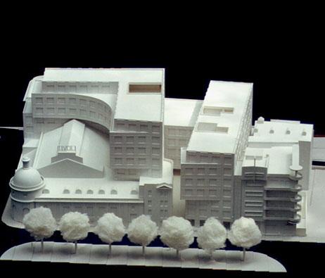 Maquetas: Complexo Tivoli. Lisboa (figura 1)