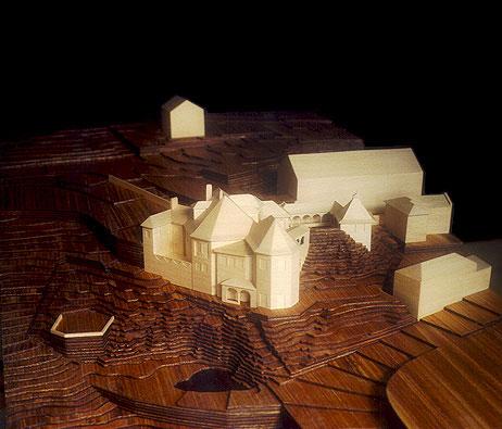 Maquetas: Casa do Cipreste. São Pedro de Sintra (figura 1)