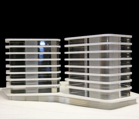 Maquetas: Edifício nova sede da empresa MSF. Lisboa (figura 1)