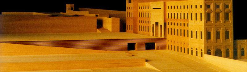 Maquetas: Palácio da Ajuda - Projecto de fecho e remate. Lisboa (figura 1)