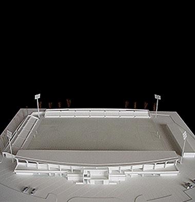 Maquetas: Estádio Municipal. Oeiras (figura 1)