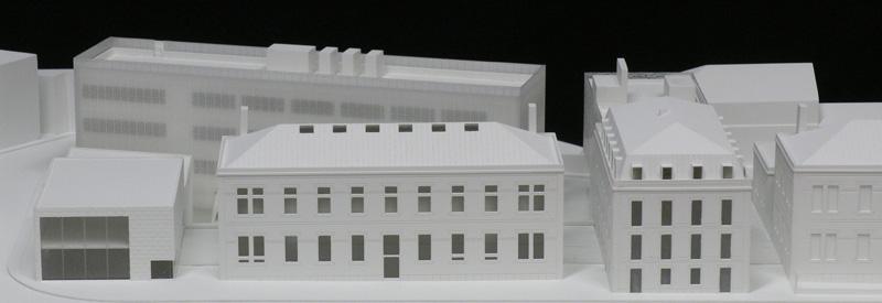 Maquetas: Instituto Câmara Pestana - Faculdade de Ciências Médicas, UNL, Lisboa (figura 1)