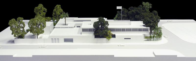 Maquetas: Embaixada de Portugal, Dili, Timor-Leste (figura 1)