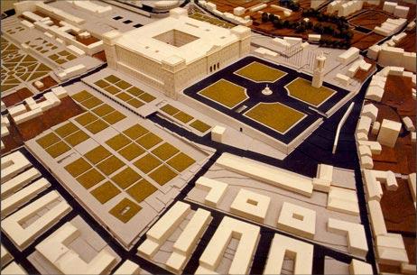 Maquetas: Plano de pormenor da Ajuda. Lisboa (figura 1)