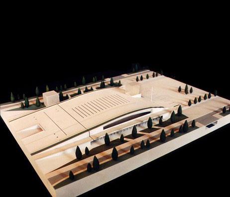 Maquetas: Santuário de Fátima - Assembleia coberta e presbitério (figura 1)