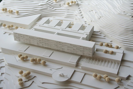 Maquetas: Hospital do Funchal, Madeira (figura 1)