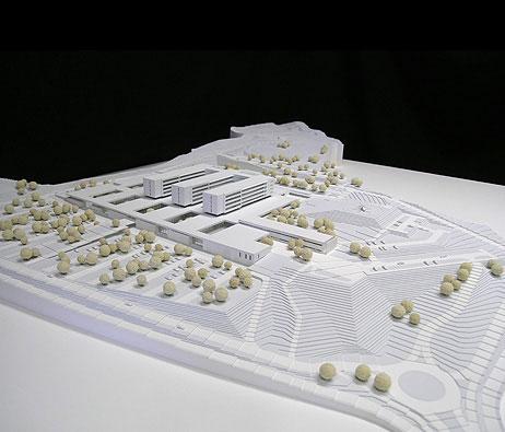 Maquetas: Hospital de Loures (figura 1)