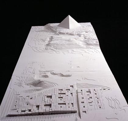 Maquetas: Grande Museu Egípcio. Cairo, Egipto (figura 1)