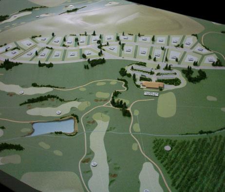 Maquetas: Plano de urbanização de Morgado do Reguengo (figura 1)