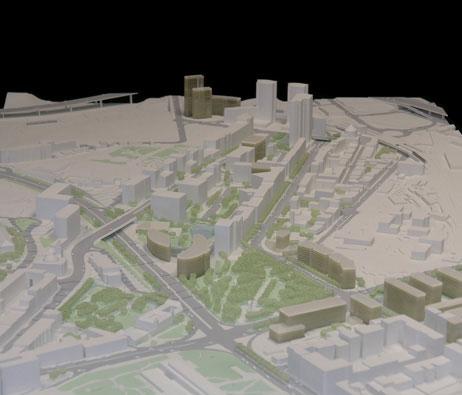 Maquetas: Plano de pormenor da Praça de Espanha. Lisboa (figura 1)