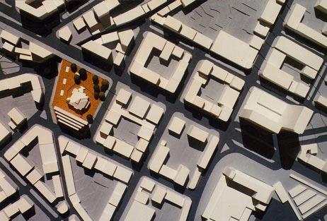 Maquetas: Edifício de escritórios junto ao Palácio Sottomayor. Lisboa (figura 1)