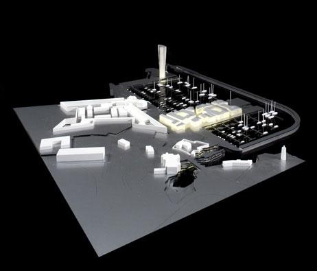 Maquetas: Marina de Cascais - Plano de remodelação (figura 1)