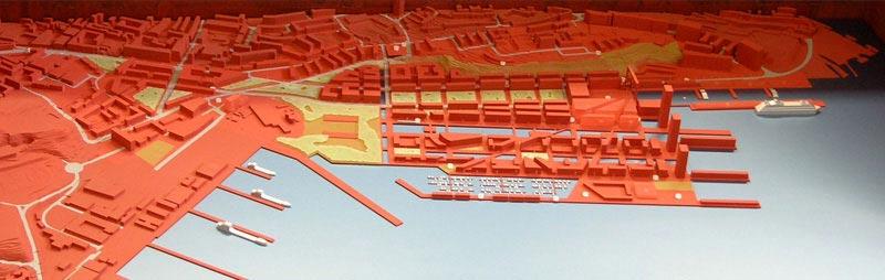 Maquetas: Estaleiro da Margueira, Almada - Reconversão urbana (figura 4)