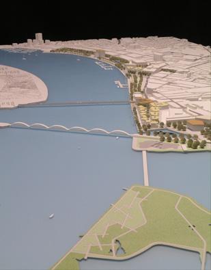 Maquetas: Frente ribeirinha de Portimão - Masterplan (figura 1)