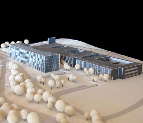 Maquetas: Hospital de Cascais. Cascais. (figura 1)