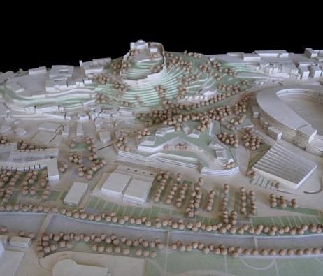 Maquetas: Centro comercial, pavilhão multiusos e arranjo paisagístico. Leiria. (figura 1)