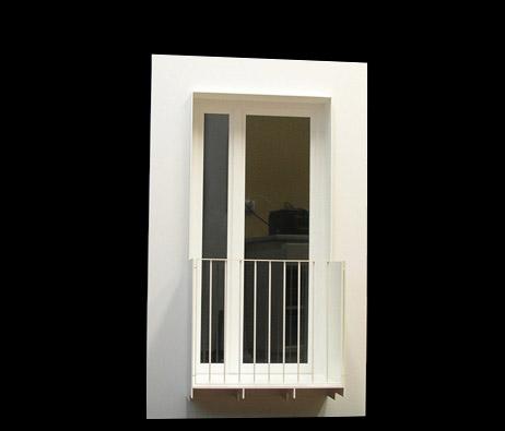 Maquetas: Modelo de janela. (figura 1)