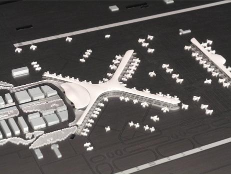 Maquetas: Aeroporto, Alcochete. (figura 1)